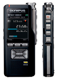 Olympus DS3500 Digital Dictaphone and Conference Voice Recorder