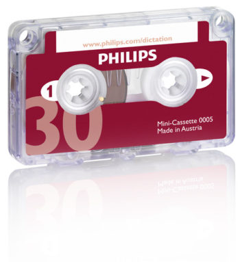 LFH 0005 Philips Mini Cassette Tapes 15 Min each side | Raltone