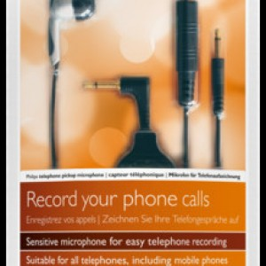 Philips Telephone Pickup Microphone   Raltone