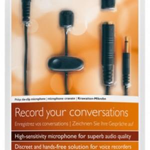 Philips Tie Clip Microphone LFH-9173 | Raltone