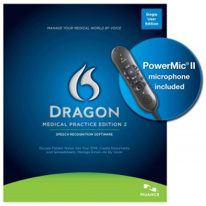 Dragon-Medical with Power Mic
